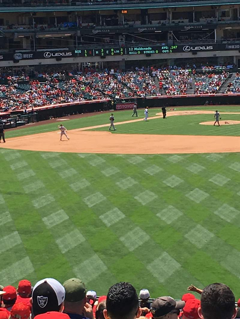 Seating view for Angel Stadium Section P239