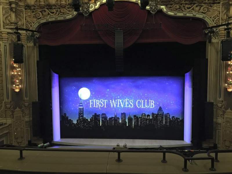 Seating view for James M. Nederlander Theatre Section LOGE C Row D Seat 308
