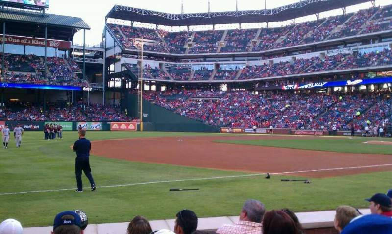 Seating view for Globe Life Park in Arlington Section 16 Row 3 Seat 4