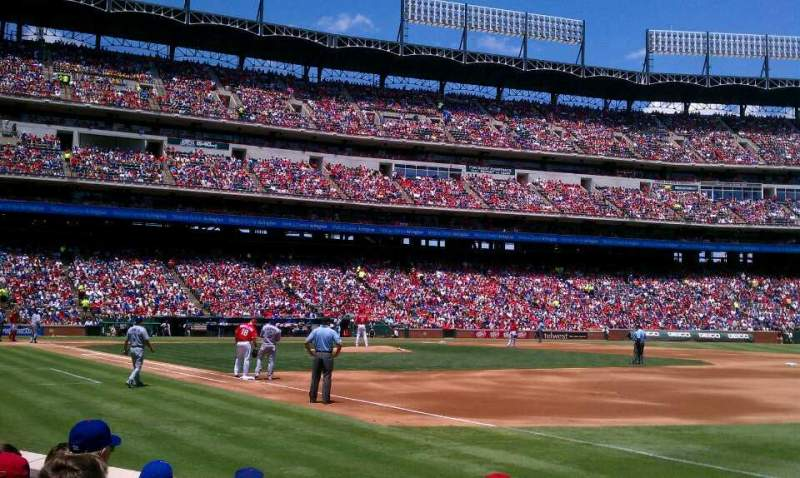 Seating view for Globe Life Park in Arlington Section 37 Row 3 Seat 5