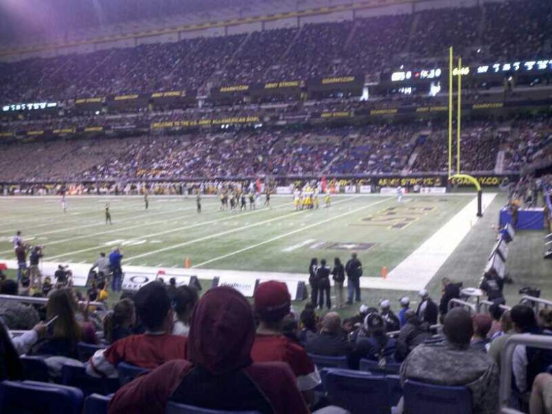 Seating view for Alamodome Section 105