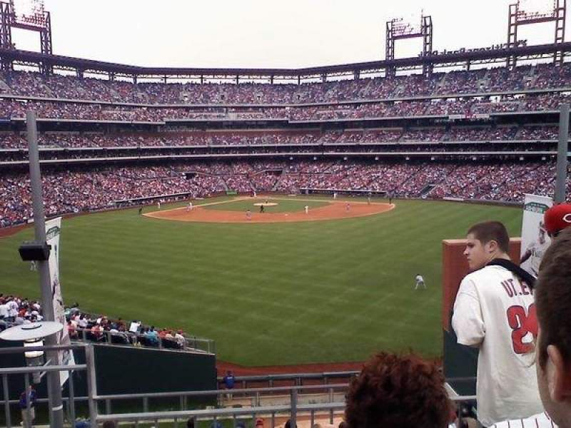Seating view for Citizens Bank Park Section Bud Light Bleachers