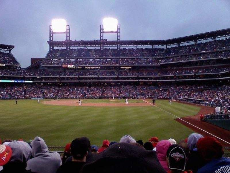 Seating view for Citizens Bank Park Section 142