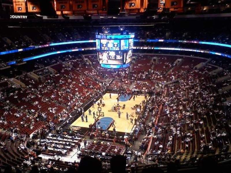 Seating view for Wells Fargo Center Section 220