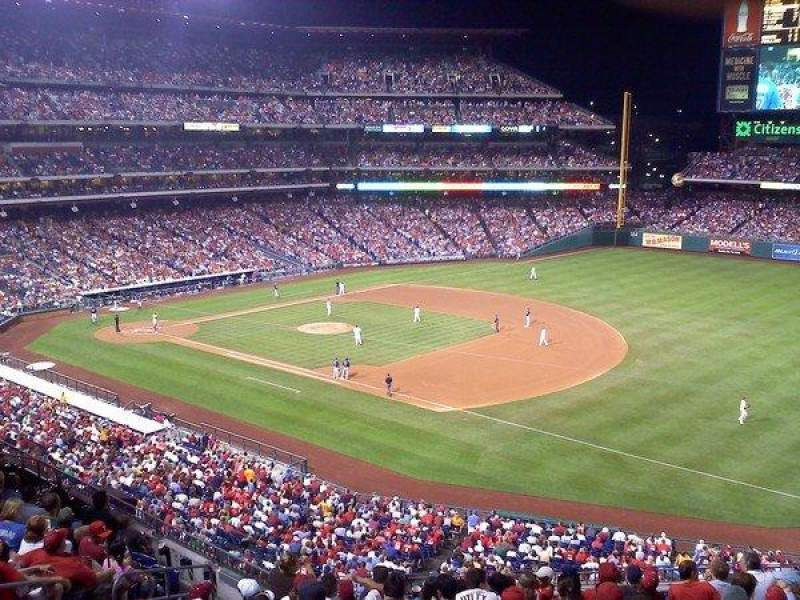 Seating view for Citizens Bank Park Section 310
