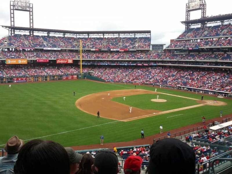 Seating view for Citizens Bank Park Section 233 Row 5 Seat 6