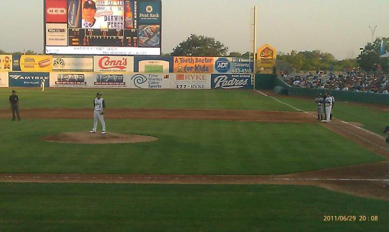 Seating view for Nelson W. Wolff Municipal Stadium Section 107