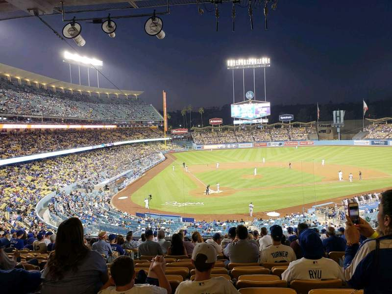 Seating view for Dodger Stadium Section 116LG Row R Seat 6