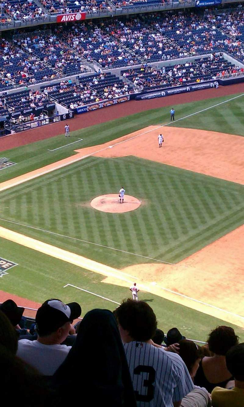 Seating view for Yankee Stadium Section 413 Row 14 Seat 6