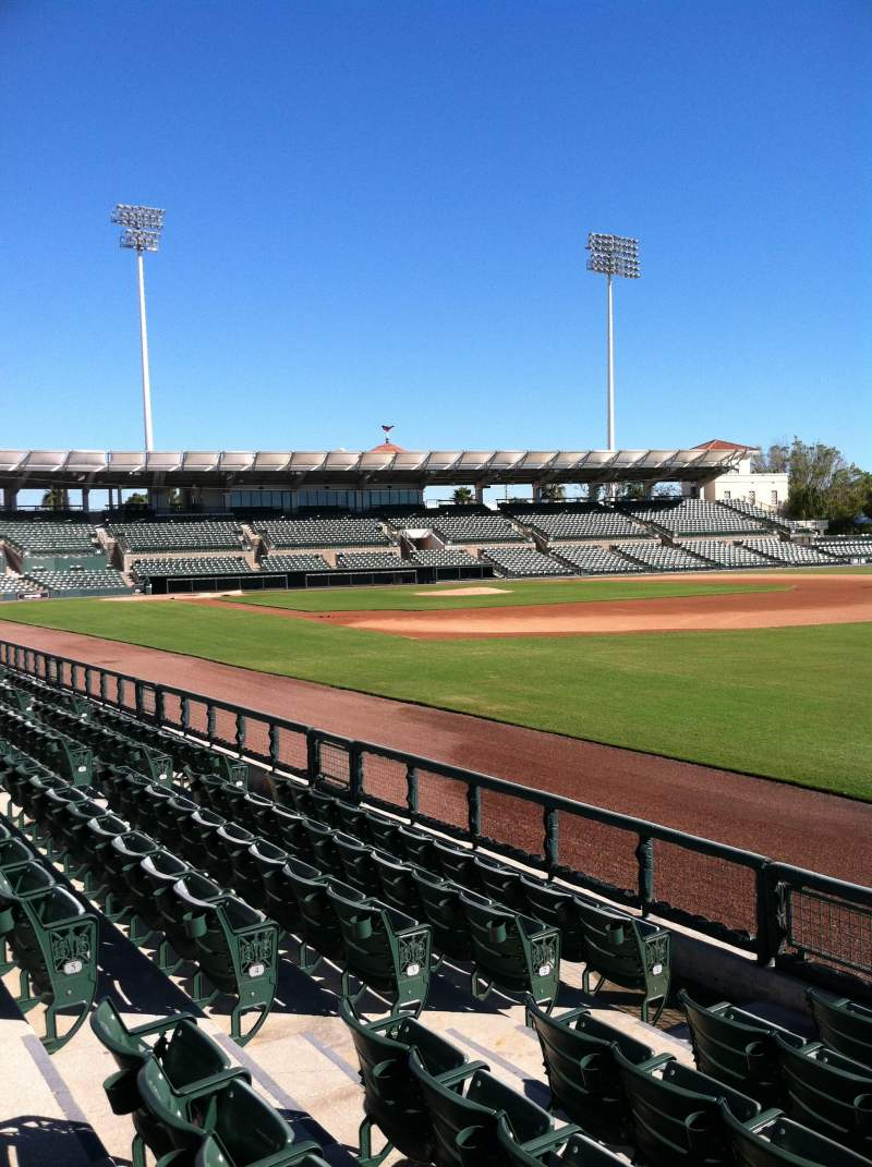 Seating view for Ed Smith Stadium Section 101 Row 6 Seat 7