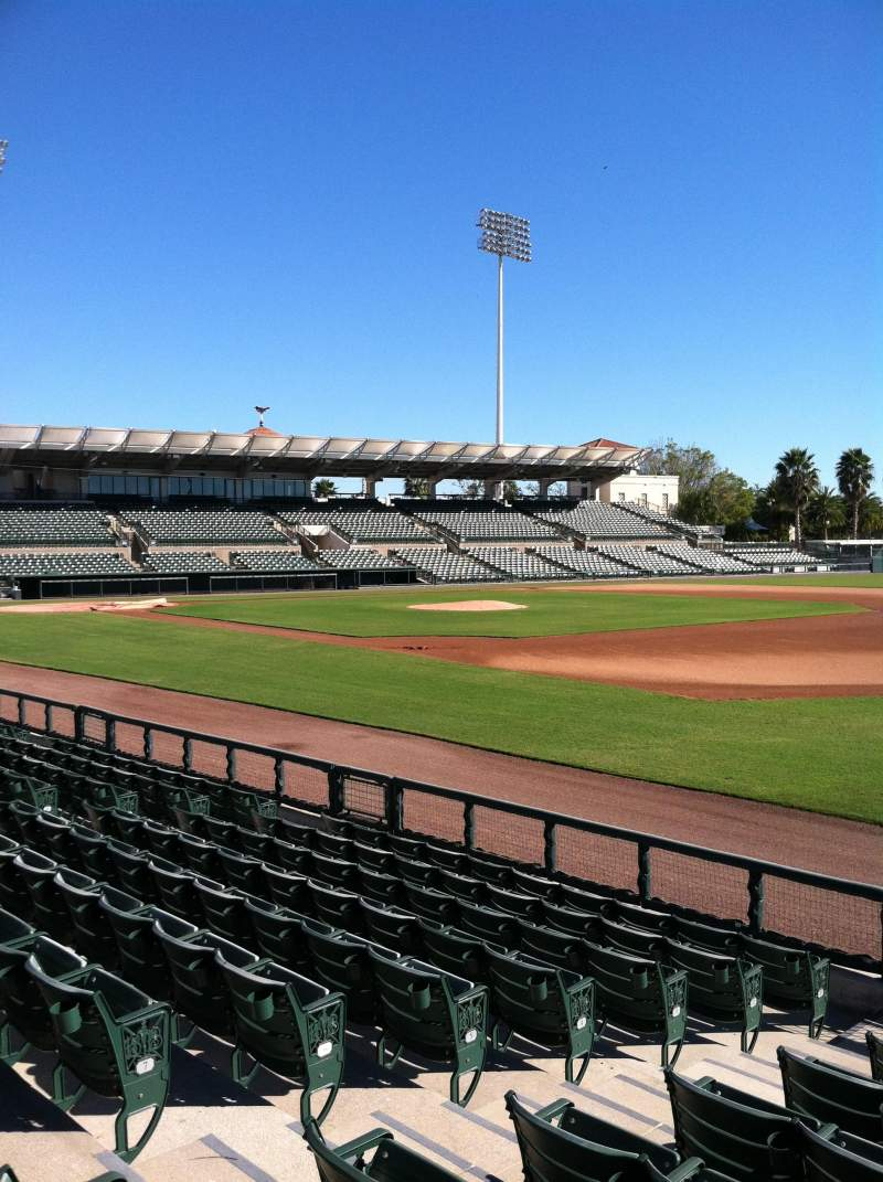 Seating view for Ed Smith Stadium Section 103 Row 8 Seat 7