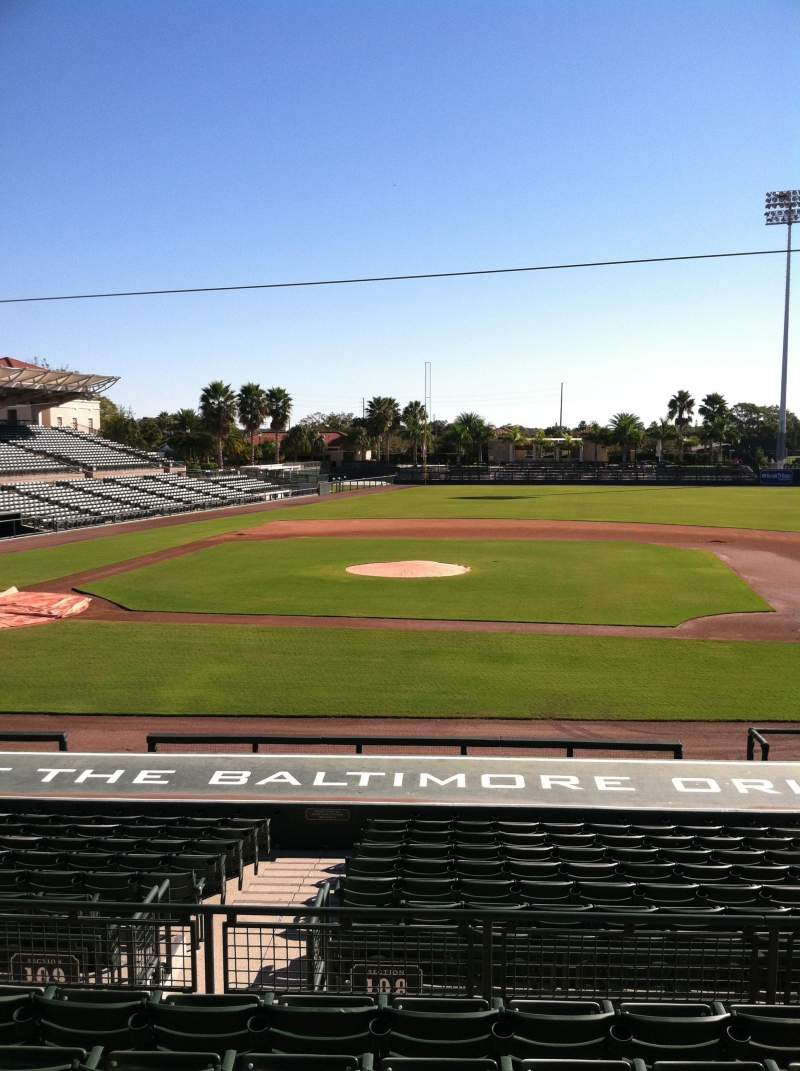 Ed Smith Stadium, section: 209, row: 7, seat: 12