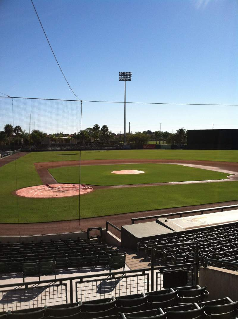 Seating view for Ed Smith Stadium Section 211 Row 7 Seat 12