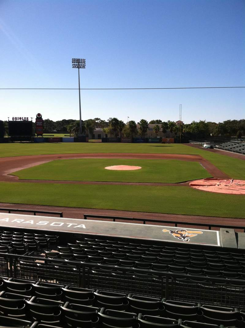Seating view for Ed Smith Stadium Section 216 Row 7 Seat 12