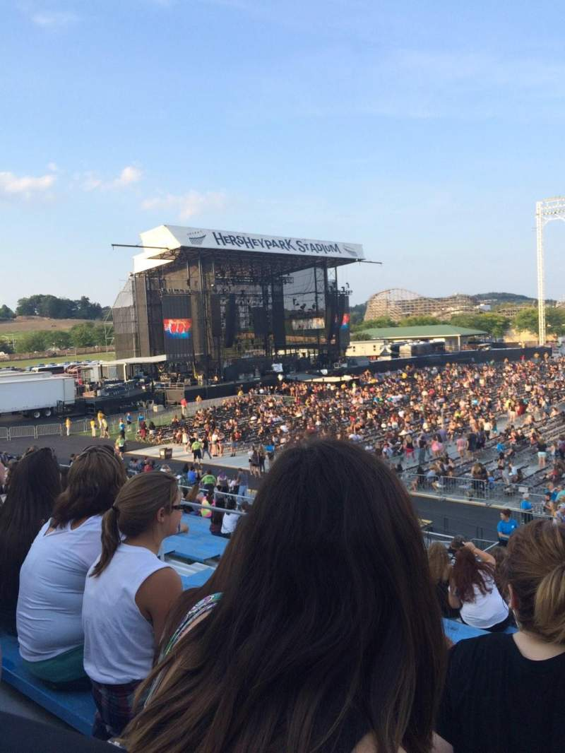 Seating view for Hershey Park Stadium Section 6 Row N Seat 21