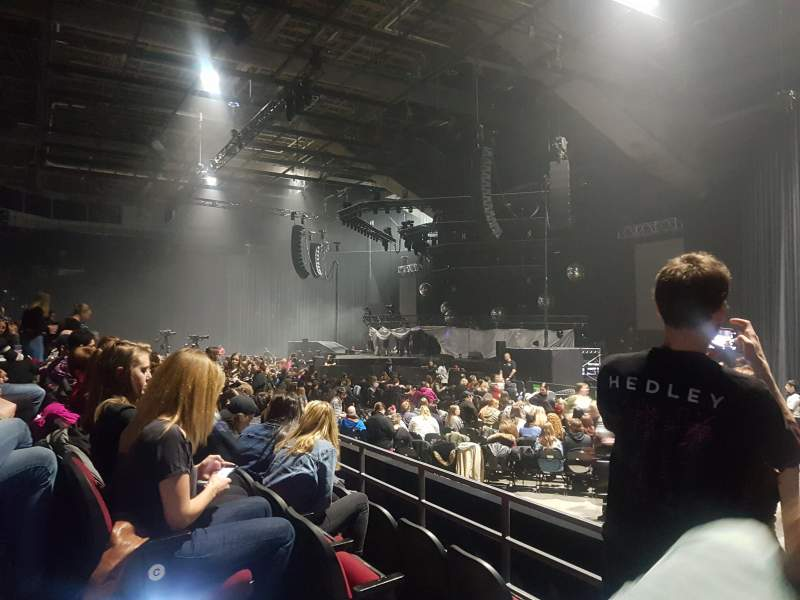 TD Place Arena, section: 16, row: E, seat: 3