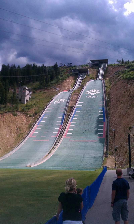 Seating view for Utah Olympic Park