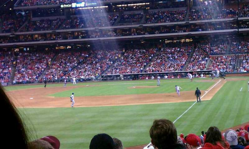 Seating view for Citizens Bank Park Section 140 Row 17 Seat 6