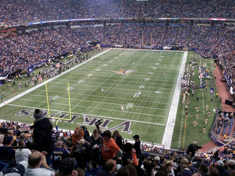 Seating view for Mall of America Field Section 238