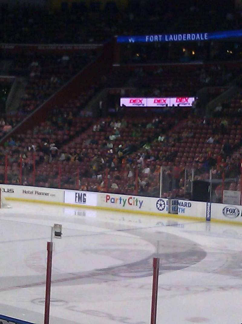 Seating view for BB&T Center Section 116 Row 12 Seat 5