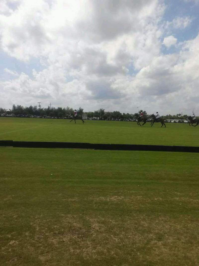 Seating view for International Polo Club