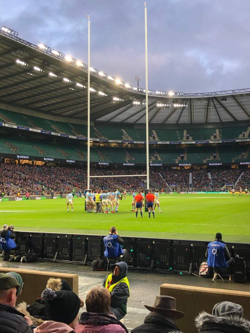 Seating view for Twickenham Stadium Section L14 Row 6 Seat 95