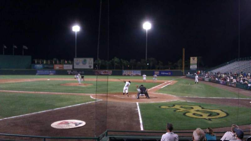 Seating view for McKechnie Field Section Box 3 Row 7 Seat 11