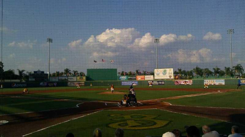 Seating view for McKechnie Field Section Box 2 Row 7 Seat 10