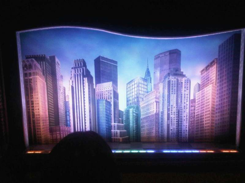 Seating view for Al Hirschfeld Theatre Section Mezzanine Row D Seat 108