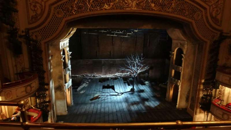Seating view for Cort Theatre Section Balcony C Row B Seat 102