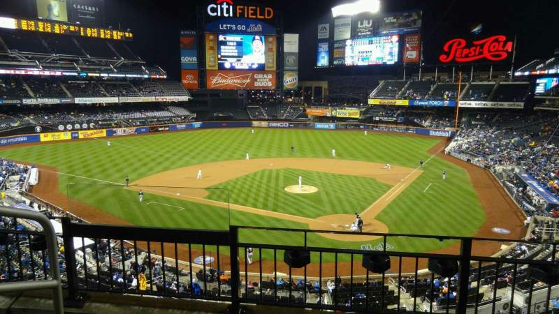 Seating view for Citi Field Section 321 Row 3 Seat 13