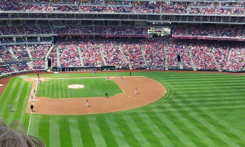 Seating view for Nationals Park Section 236 Row T Seat 11