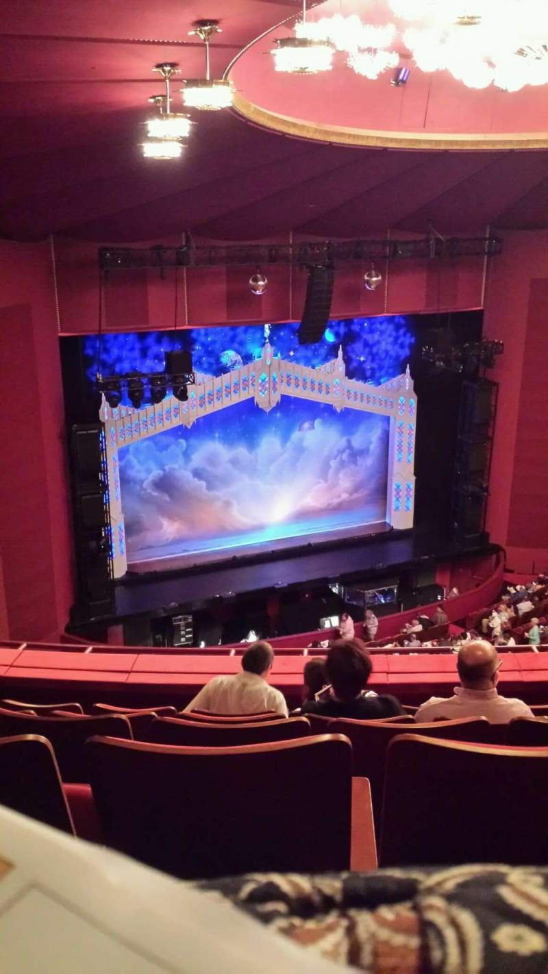 Seating view for The Kennedy Center Opera House Section 2nd Tier Row F Seat 131