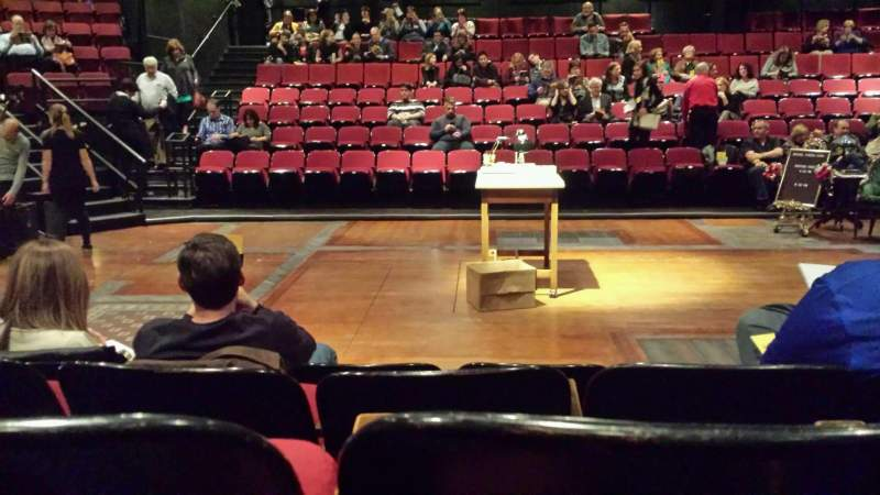 Seating view for Circle in the Square Theatre Section Orchestra Row D Seat 229