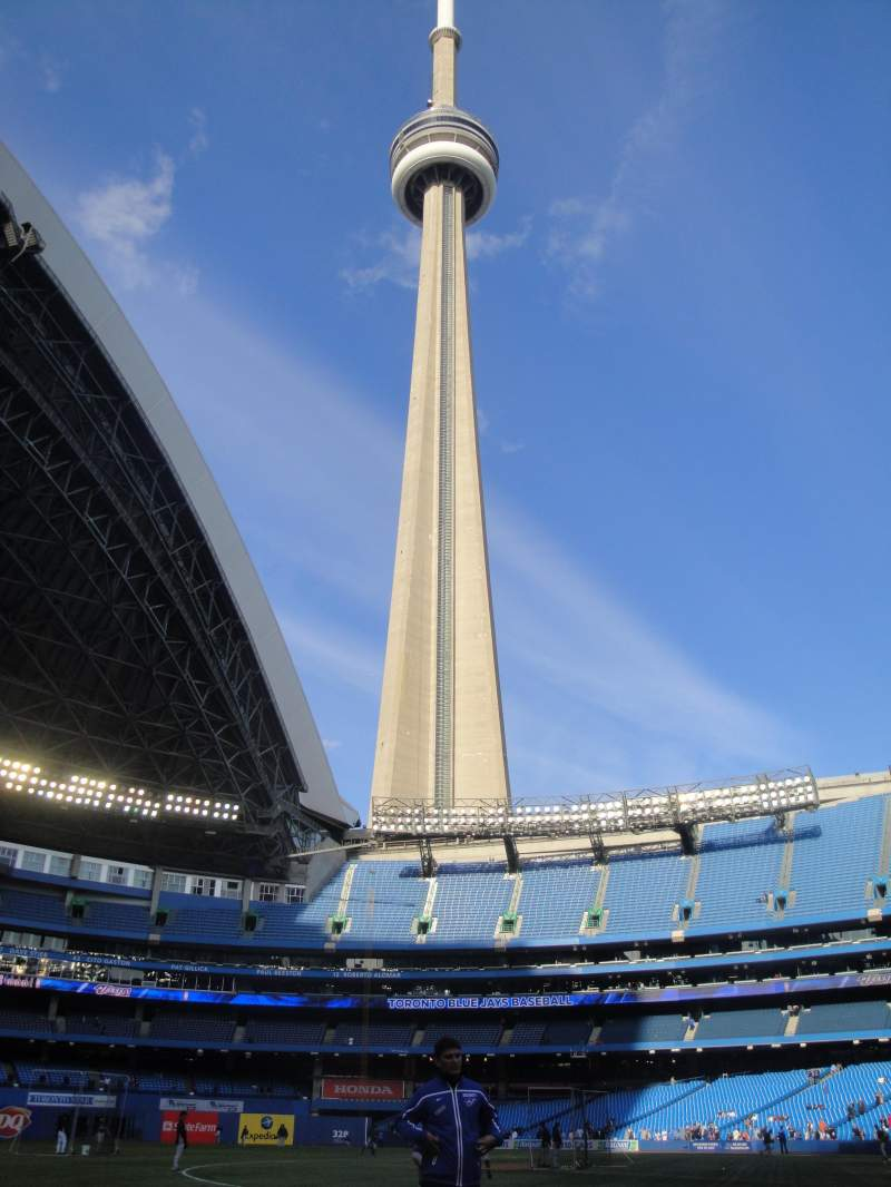 Seating view for Rogers Centre Section 129 Row 1 Seat 103