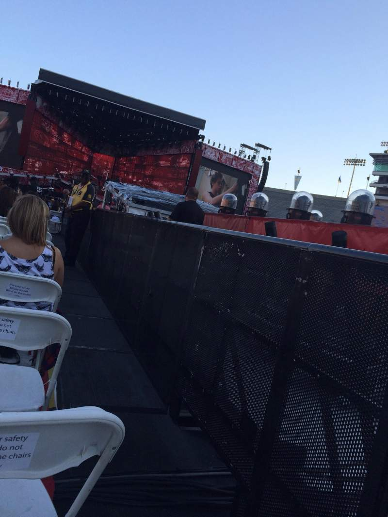 Seating view for Rose Bowl Section B4 Row 30 Seat 1