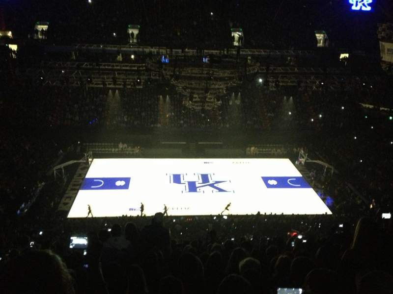 Seating view for Rupp Arena Section 213 Row T Seat 30