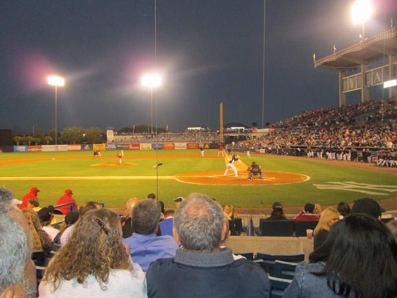 George M. Steinbrenner Field, section: 114, row: FF, seat: 5