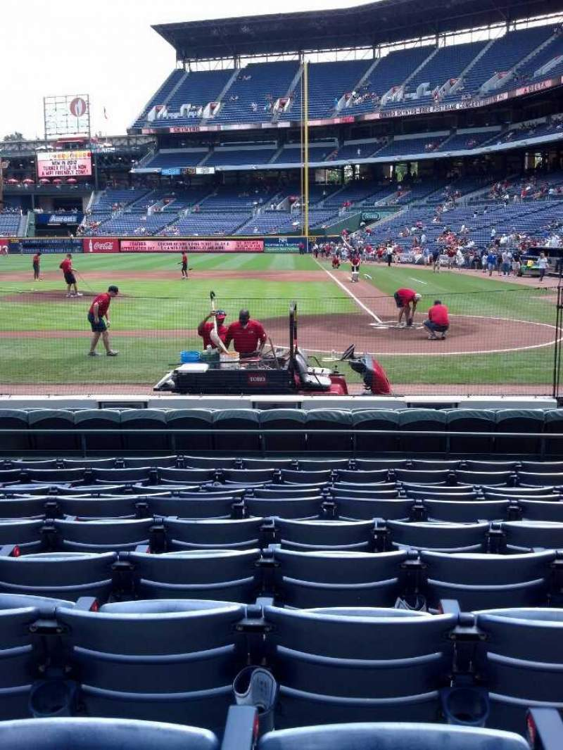 Seating view for Turner Field Section 108 Row 11 Seat 9