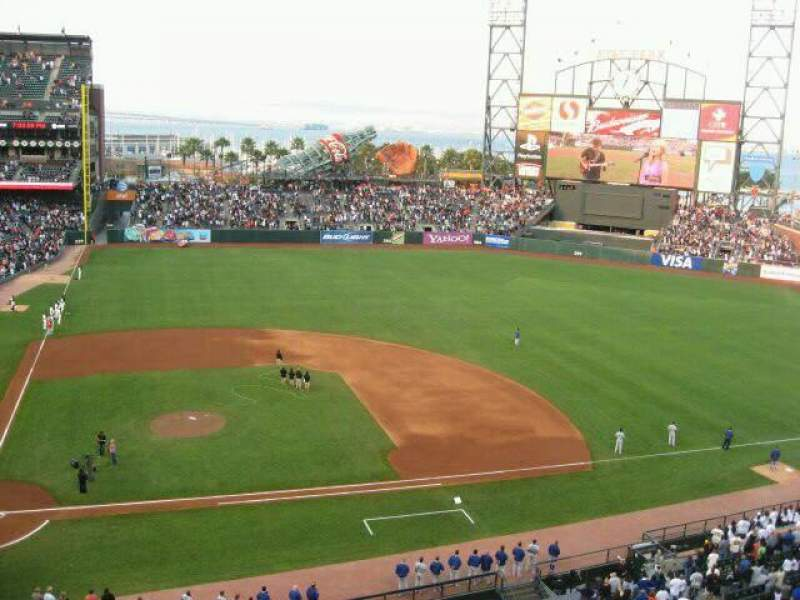 Seating view for AT&T Park Section 310