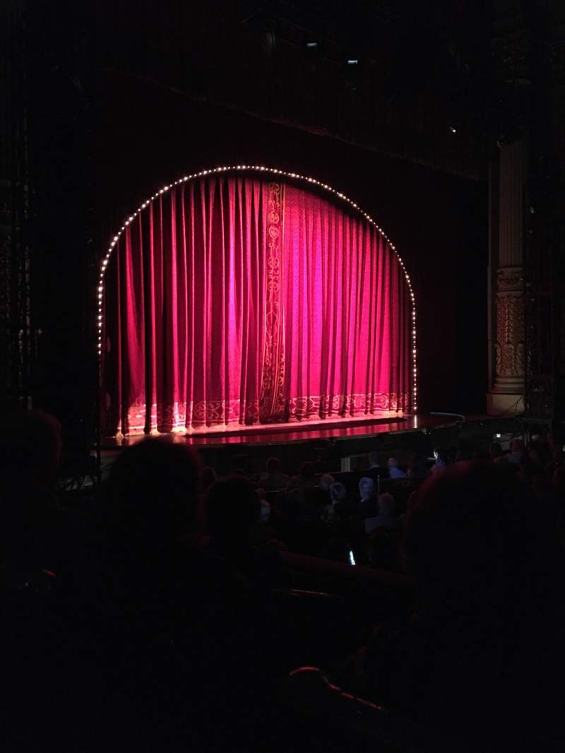 Seating view for Academy of Music Section Parquet Circle I Row T Seat 51