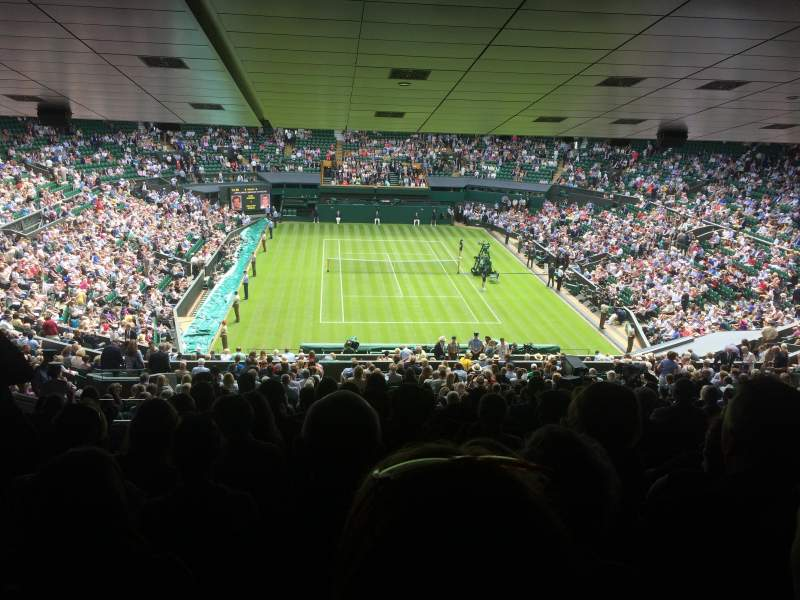 Seating view for Wimbledon, Centre Court Section 511 Row ZB Seat 210