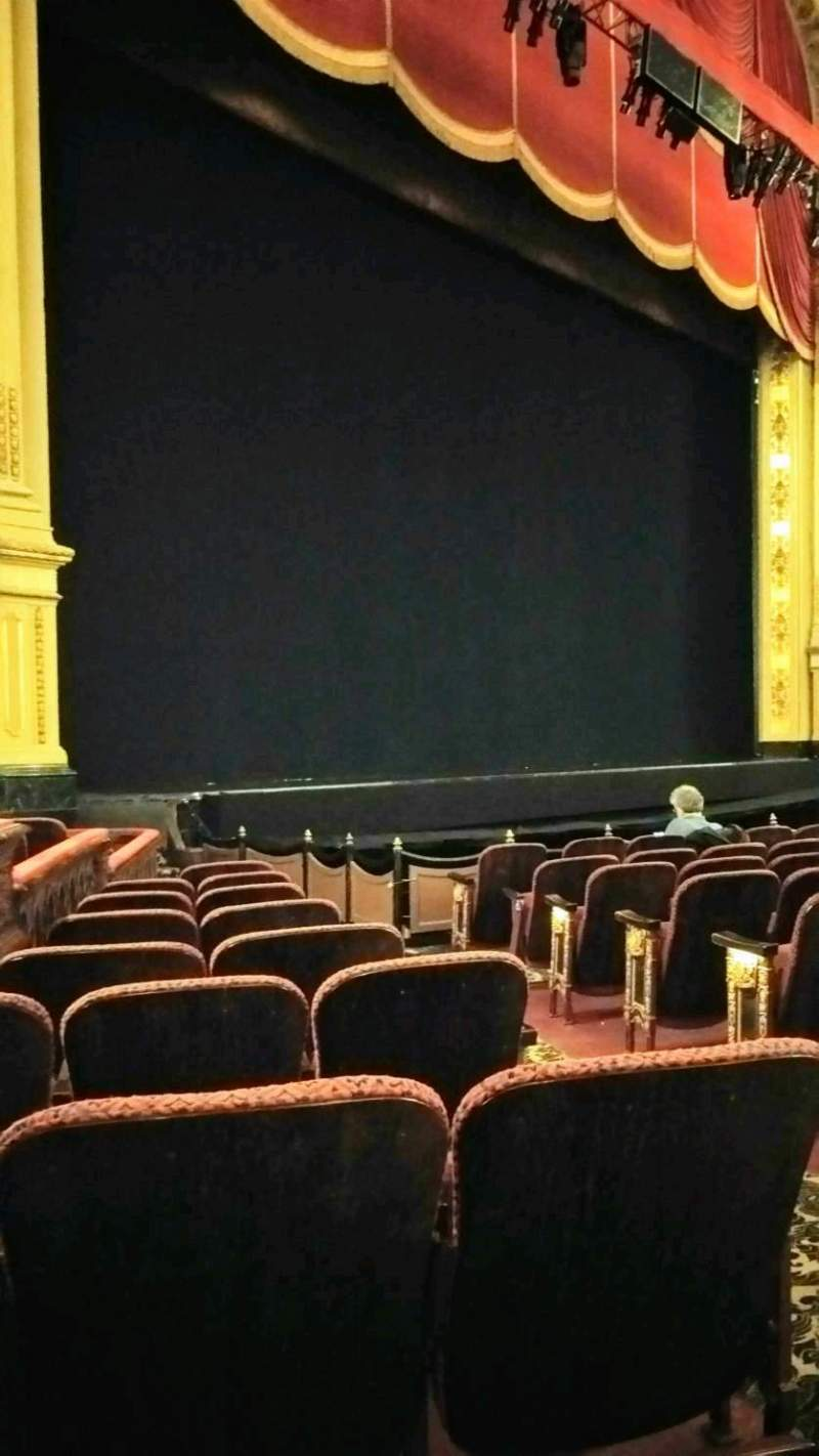 Seating view for Citizens Bank Opera House Section Orch Lft Row I Seat 35