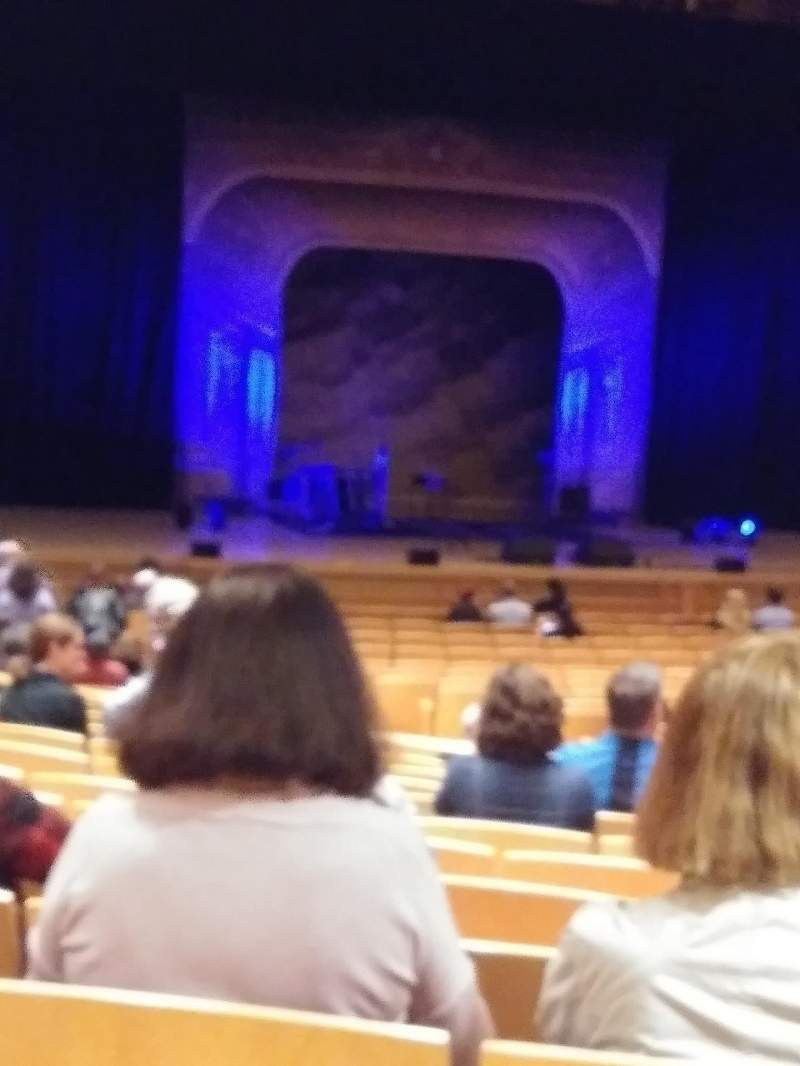 Seating view for The Music Center at Strathmore Section Orchestra Row LL Seat 1