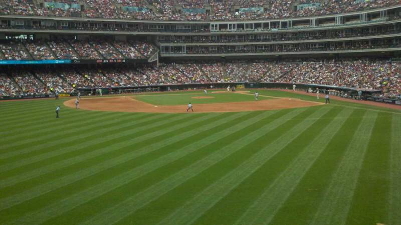 Seating view for Progressive Field Section 183