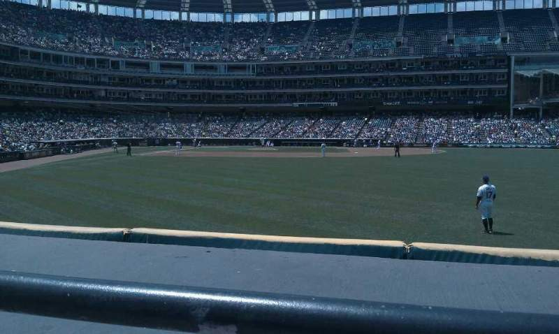 Seating view for Progressive Field Section 111 Row A Seat 7