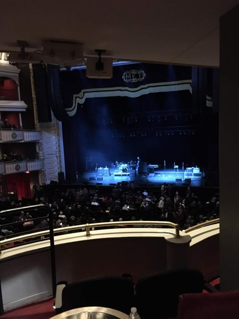 Seating view for The Met Philadelphia Section Grand Salle Box 8 Row C Seat 3