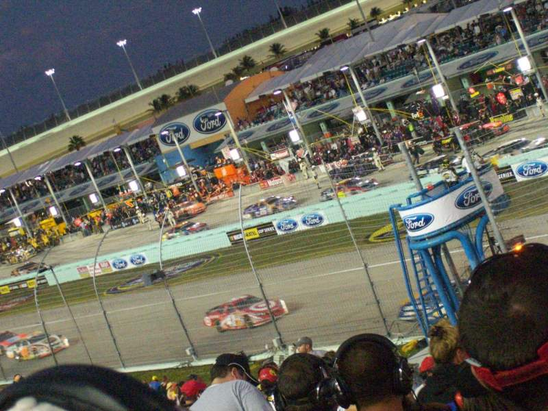 Seating view for Homestead-Miami Speedway Section 225 Row 15 Seat 7
