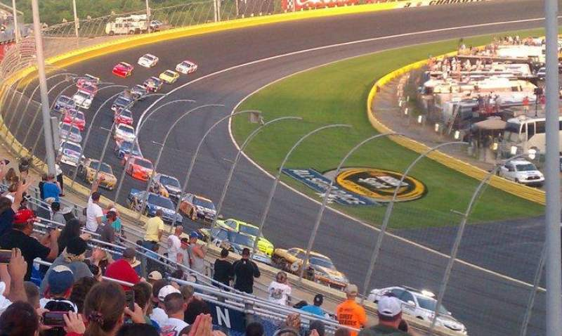 Seating view for Charlotte Motor Speedway Section Toyota N