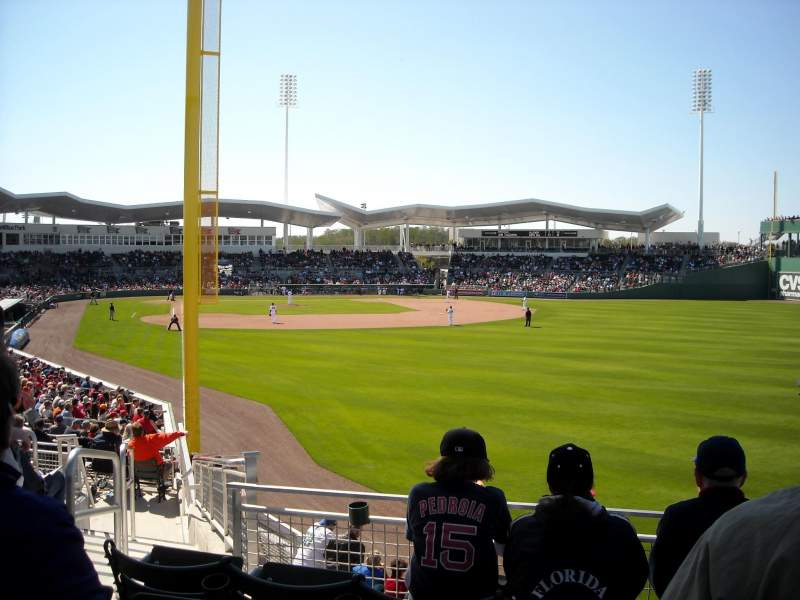 Seating view for JetBlue Park Section 225 Row 10 Seat 21